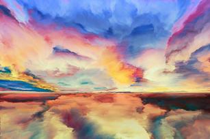 Web Be Bold Colour Burst Cloud Sample.jp