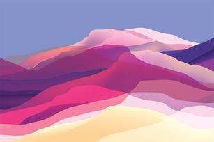 Web Be Bold Colour Dunes Vector Sample.j
