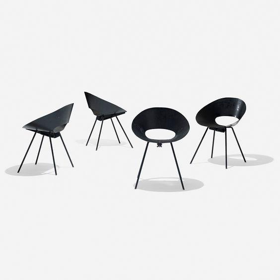 Cadeira lateral, de Don Knorr