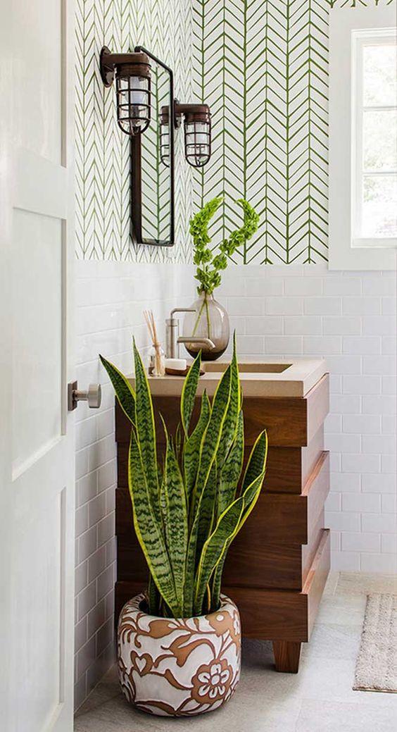 Plata para decorar banheiro