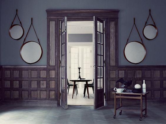 Interior espelho redondo Adnet