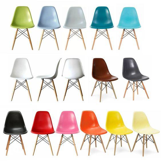 Cores para cadeira Eames