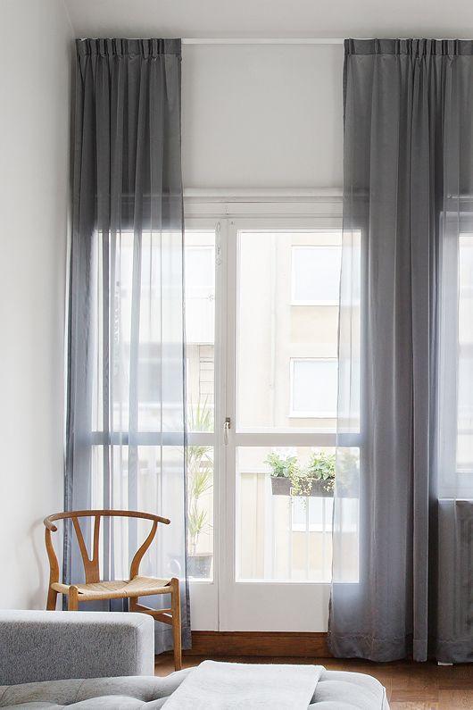 Tamanho certo das cortinas