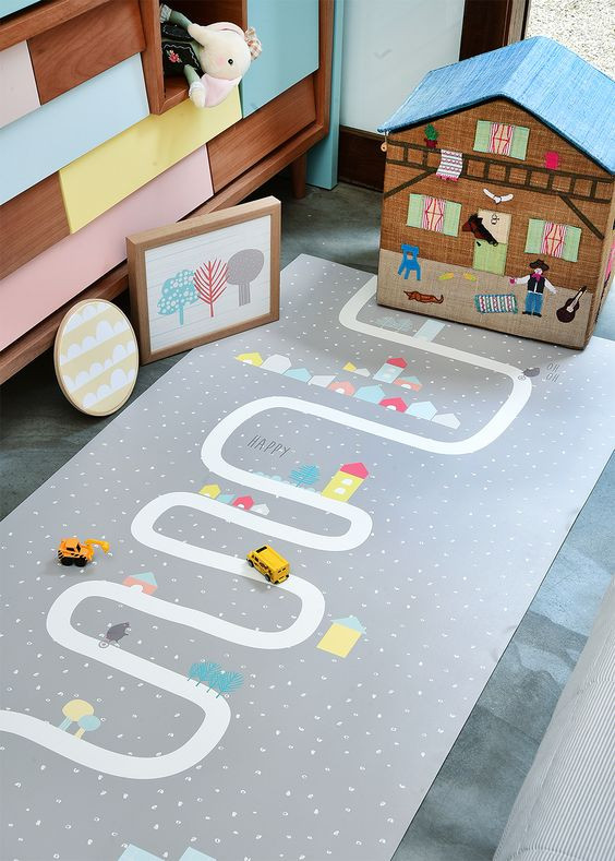 tapete para quarto infantil