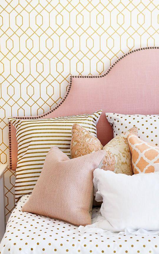 Estampas de decoração no quarto