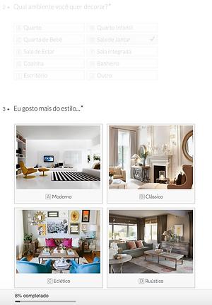 Estilo de decoração de interiores (moderno, clássico, rústico e outros)