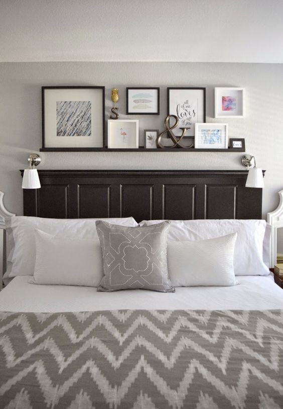 Jogo de cama com decoração padrões geométricos