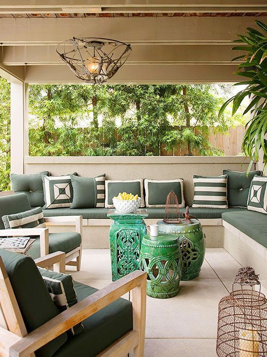 Garden Seat para decorar jardim