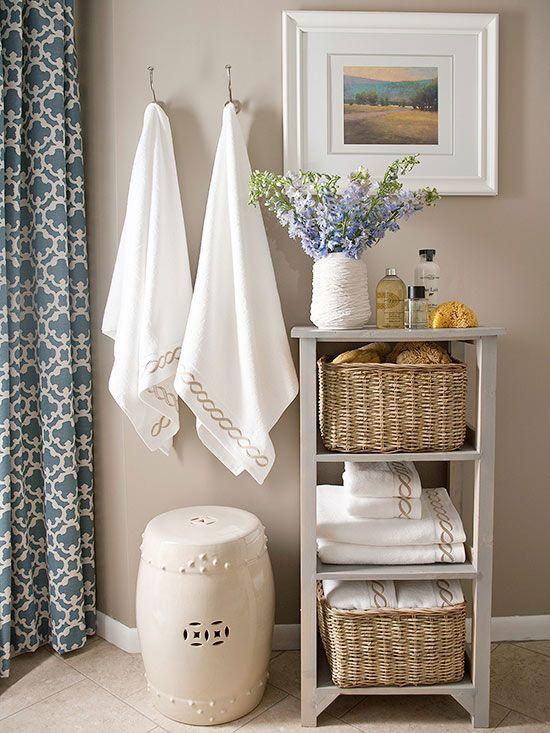 Garden Seat para decorar Banheiro
