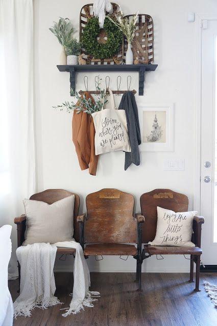 Dicas de cadeiras para entrada da sala