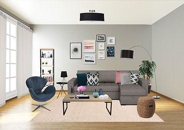 Proposta do designer de interiores