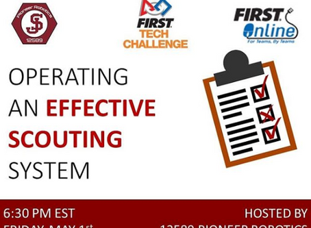 Operating an Effective Scouting System by Pioneer Robotics