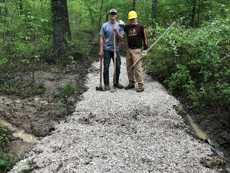 Partners Come Together for Wolf Creek Trail System Improvements