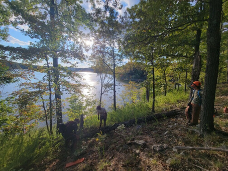 Lakeview Trail at Lake Wappapello State Park Fully Reopened by PBTC