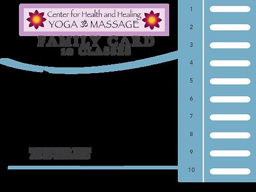 Family Class Card