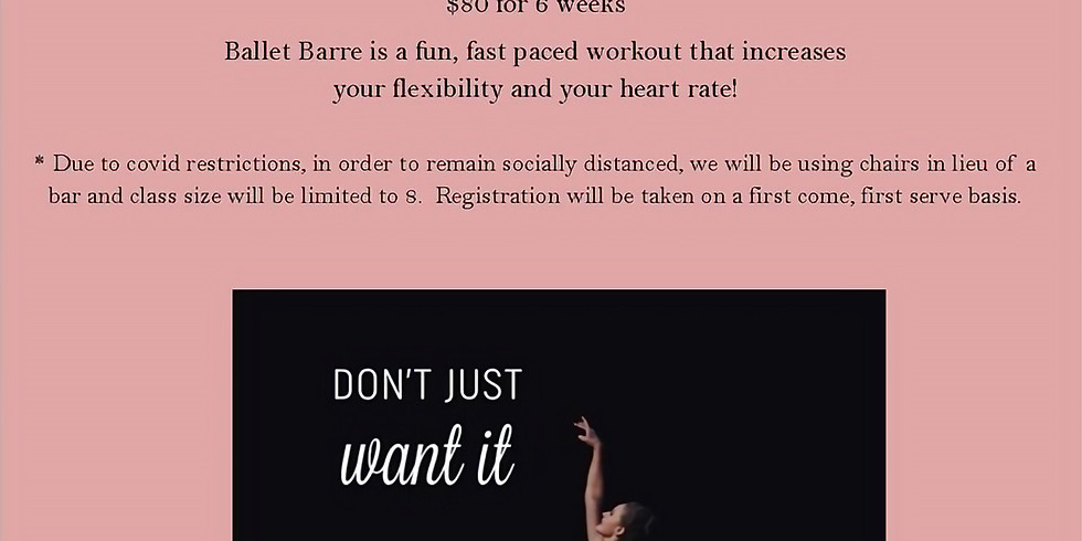Ballet Barre with Sarah