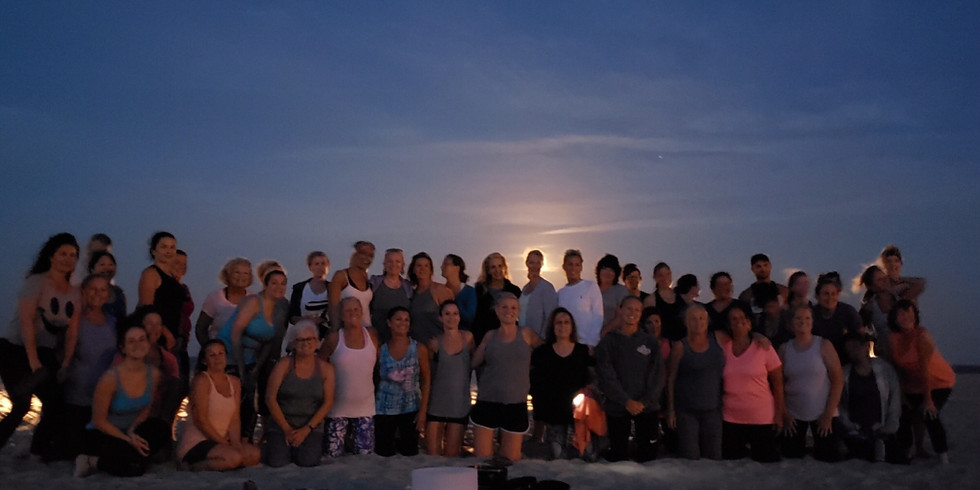 Full Moon Yoga with Angel and singing Bowls