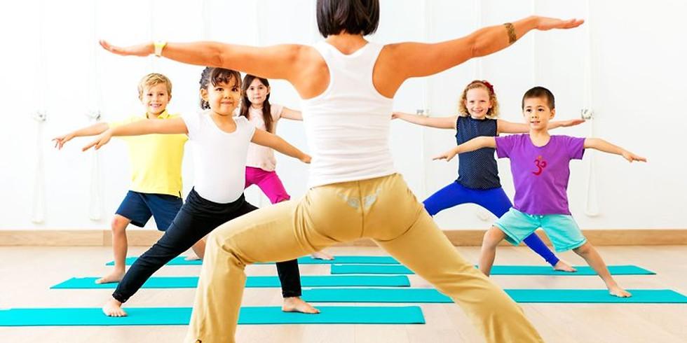 Kid's Yoga & Art