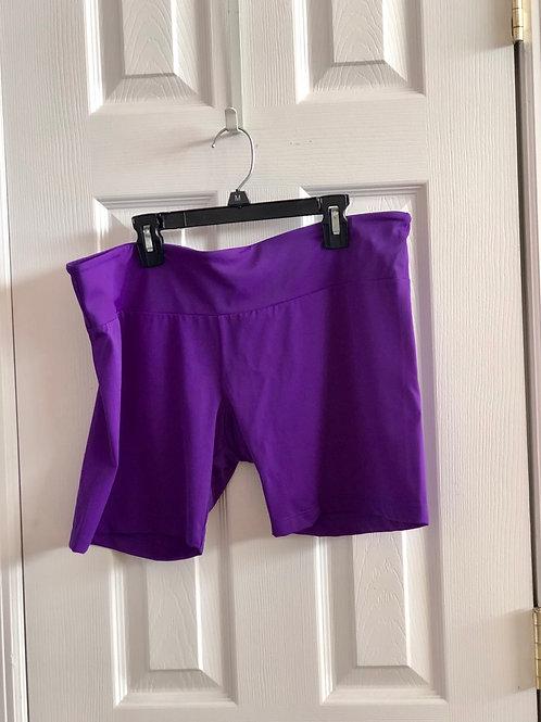 purple shorts Onzie