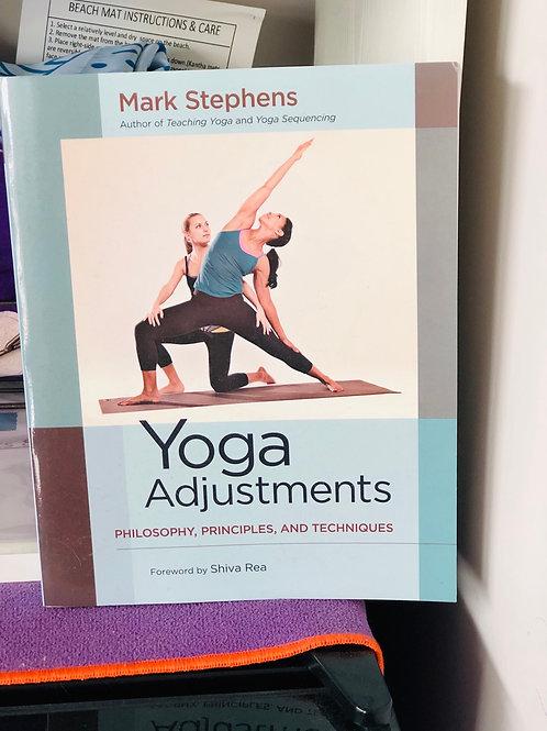 Yoga Adjustments Book