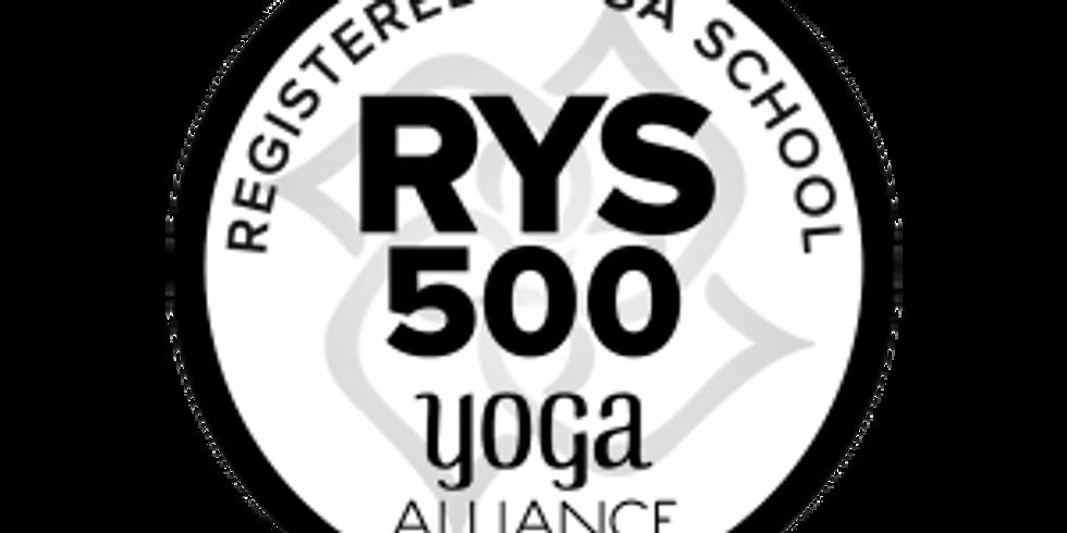 300 Hour Yoga Certification Program (12 mos)
