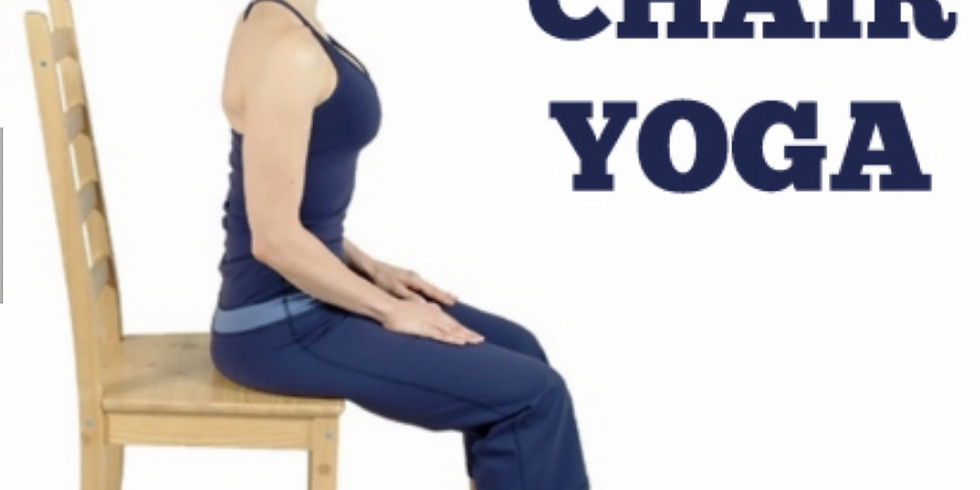 FREE CHAIR YOGA 12/5 and 12/12