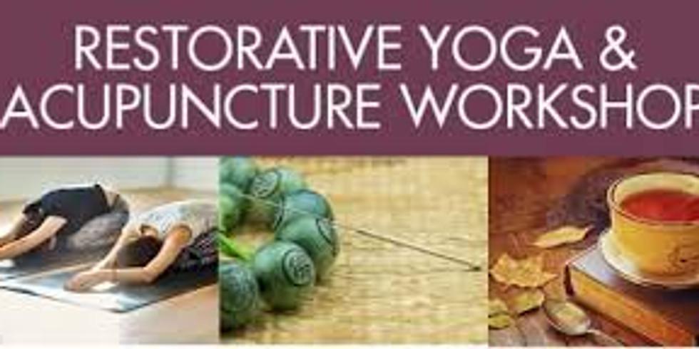 Gentle Restorative Yoga & Acupuncture