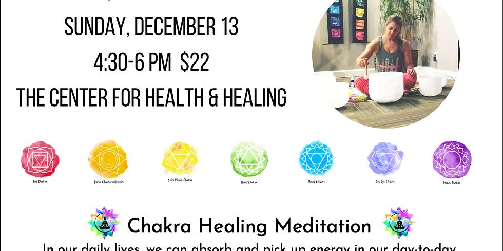 New Moon Chakra Bowl Sound Healing Meditation led by Jaime Zaggara