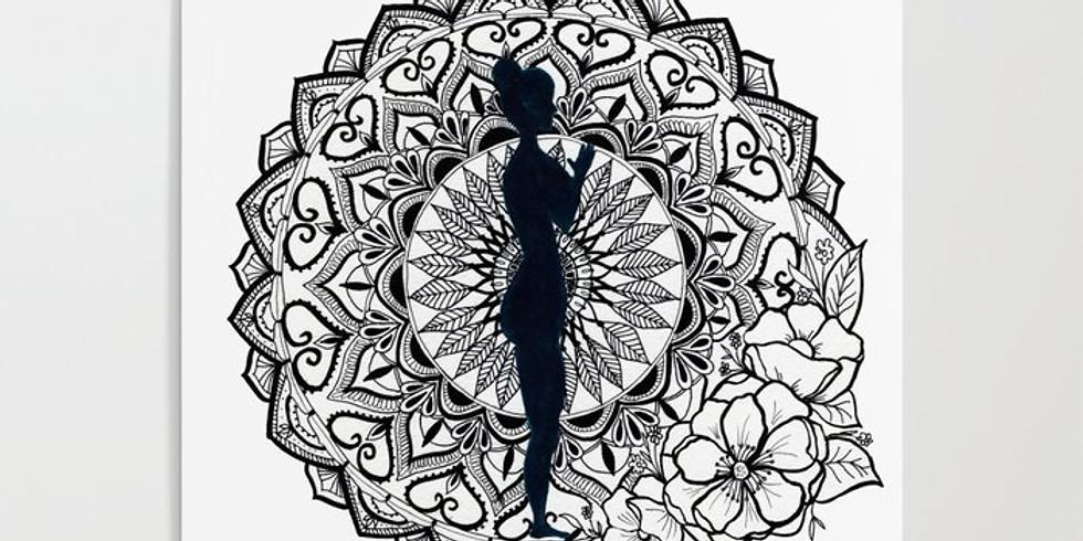 Mandala Making with Linda H