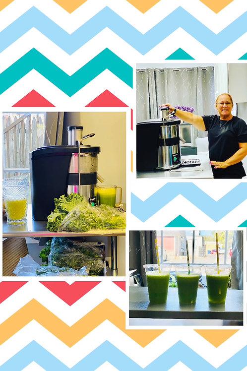 10 fresh juices