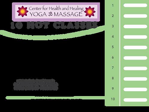 10 HOT Class Card
