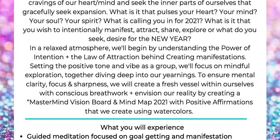 Art of Intention & Sound:  Vision Board Manifestation