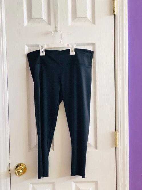 black capri leggins