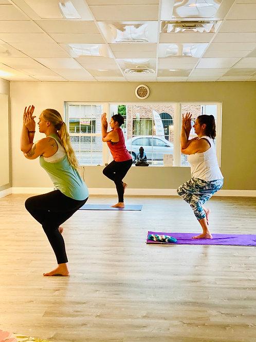 (1)unlimited week Sunday -Sunday Zoom yoga classes