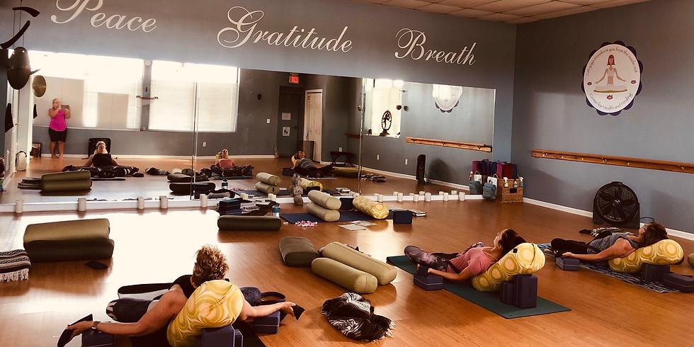 Yoga for Emotional Harmony (6 weeks) $100
