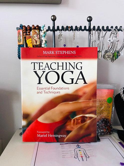 book teaching yoga