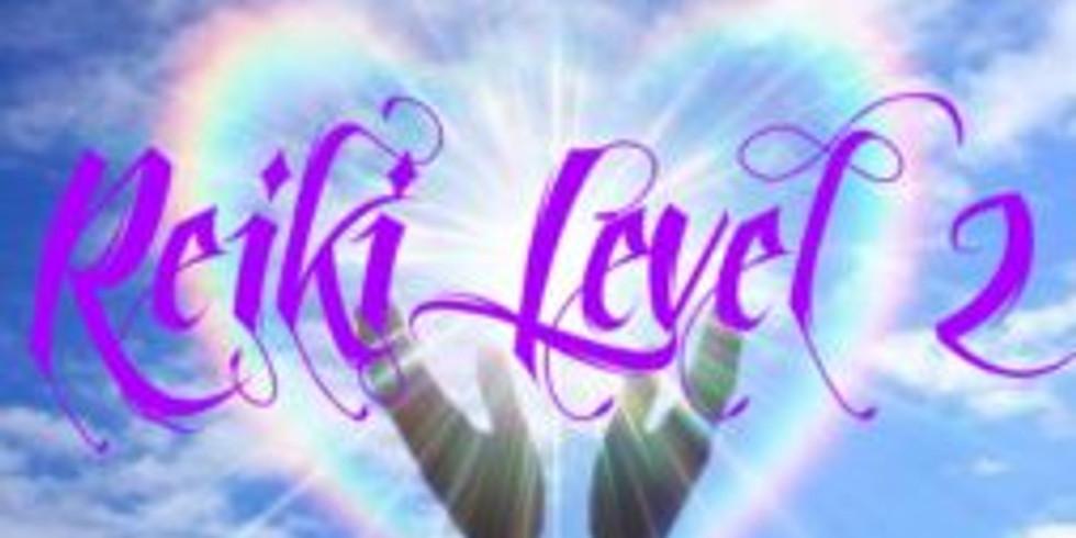 11/17 Sunday 9-5 Reiki II Certification with Donna Keeney $200