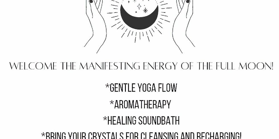 tomorrow 3pm Full Moon signing bowls, gentle flow and aromatherapy /w Tracy