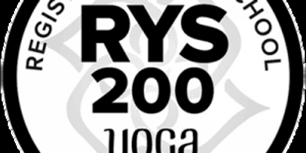 200 Hour Yoga Certification Program (6-mos)