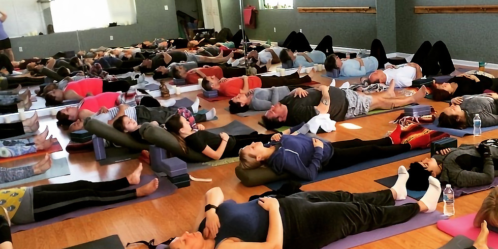 Free gentle yoga on 2/24/19 with Kate