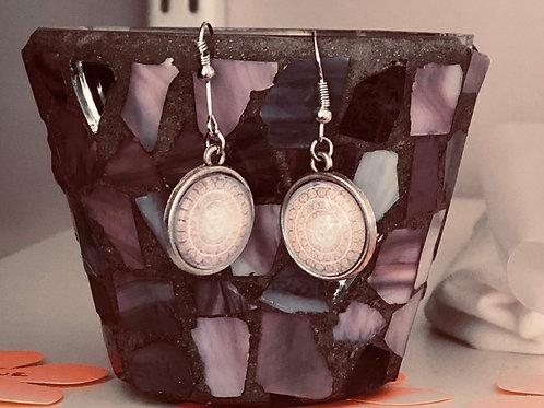 Earrings hanging glass OM's on sale $15