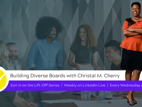 Building Diverse Boards, interview with The Board Pro