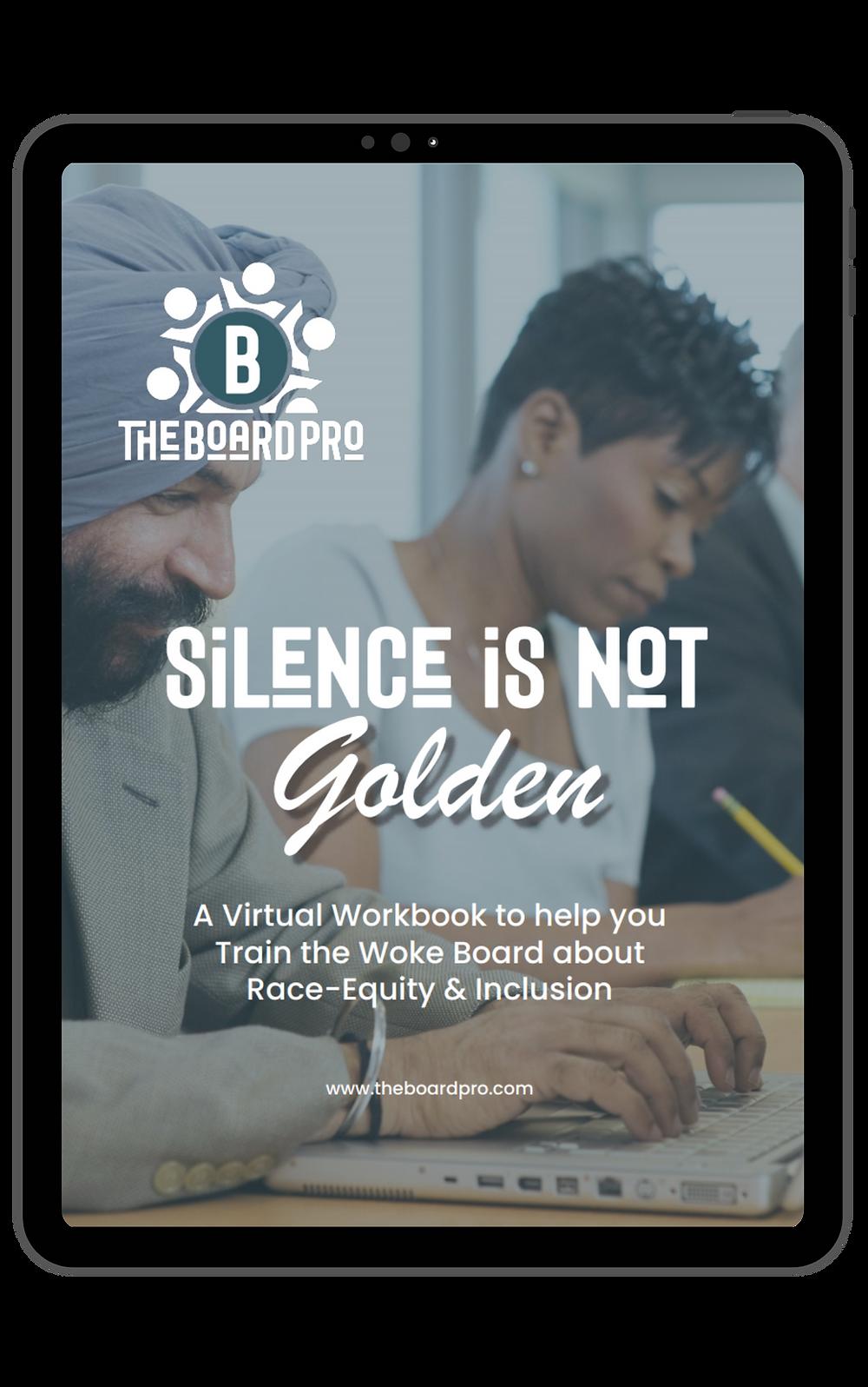Digital training workbook to create woke boards