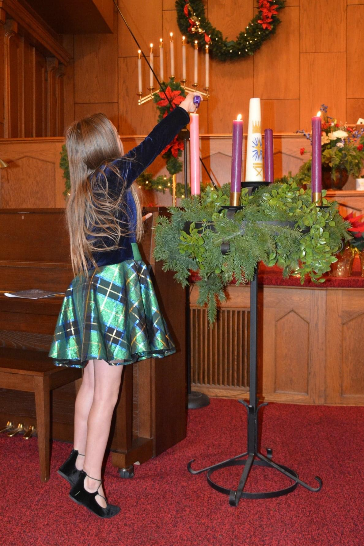 Christmas Eve Advent Wreath