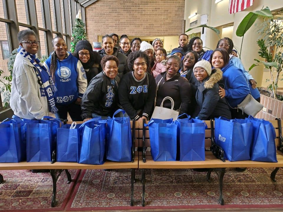 Meals on Wheels Christmas 2019