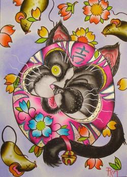 Daruma Kitty