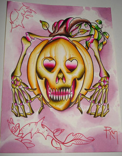 Pumpkin Bones