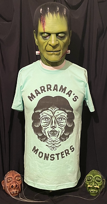 Mint Green Monster Shirt