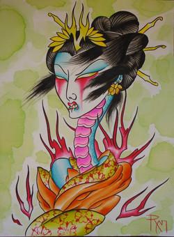 Female Rokurokubi
