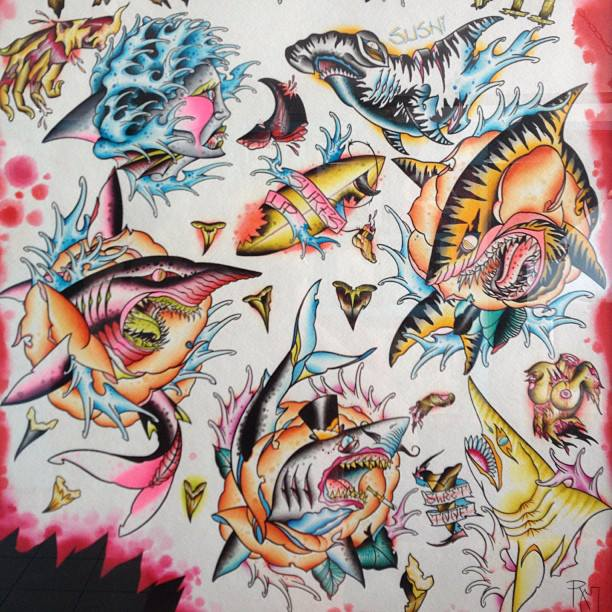 Shark Week Art Work